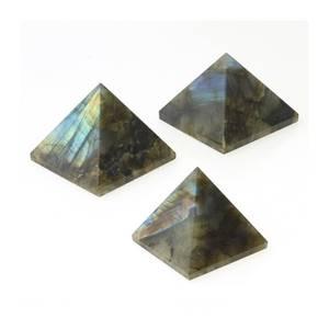 Bilde av Labradoritt Pyramide 40x40mm